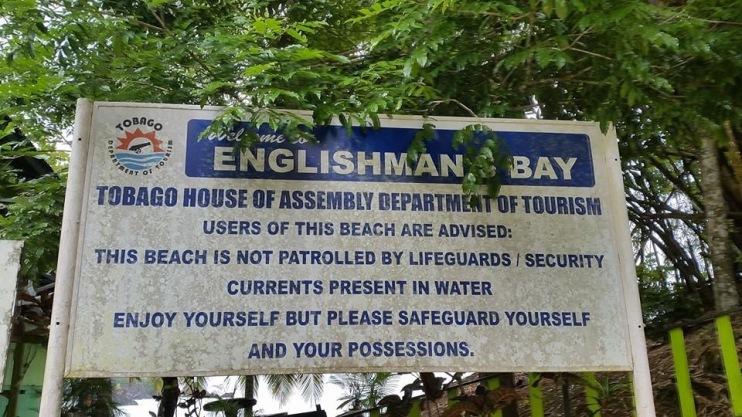 An English man in Trinidad